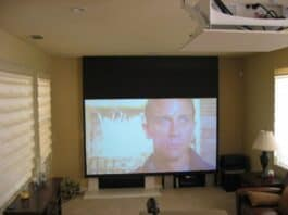 DIY Home Theater Tips - Big screen and projector