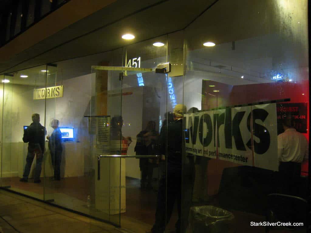 The Works Gallery in San Jose, California