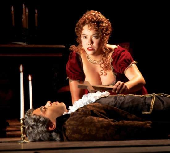 Bosoms-in-Theater - Opera is fun