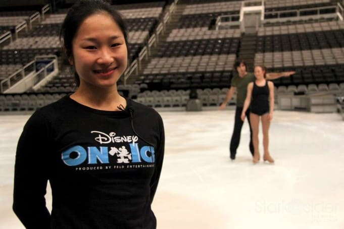 Figure skater Midori Sano. Her father won a bronze in the 1977 Worlds.