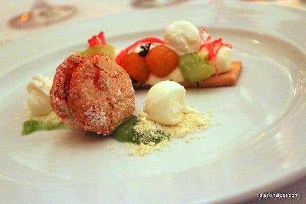 A beautiful dessert