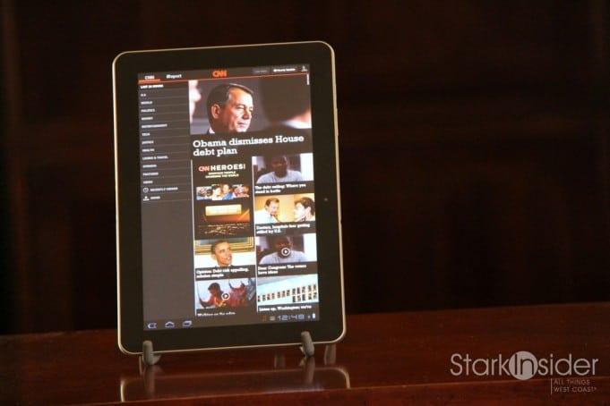Samsung Galaxy Tab 10.1 - CNN