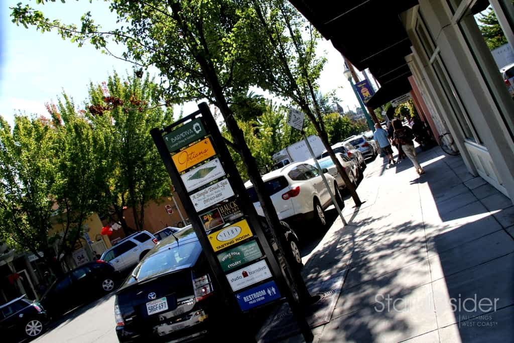 Healdsburg is known for its boutiques, cafes.