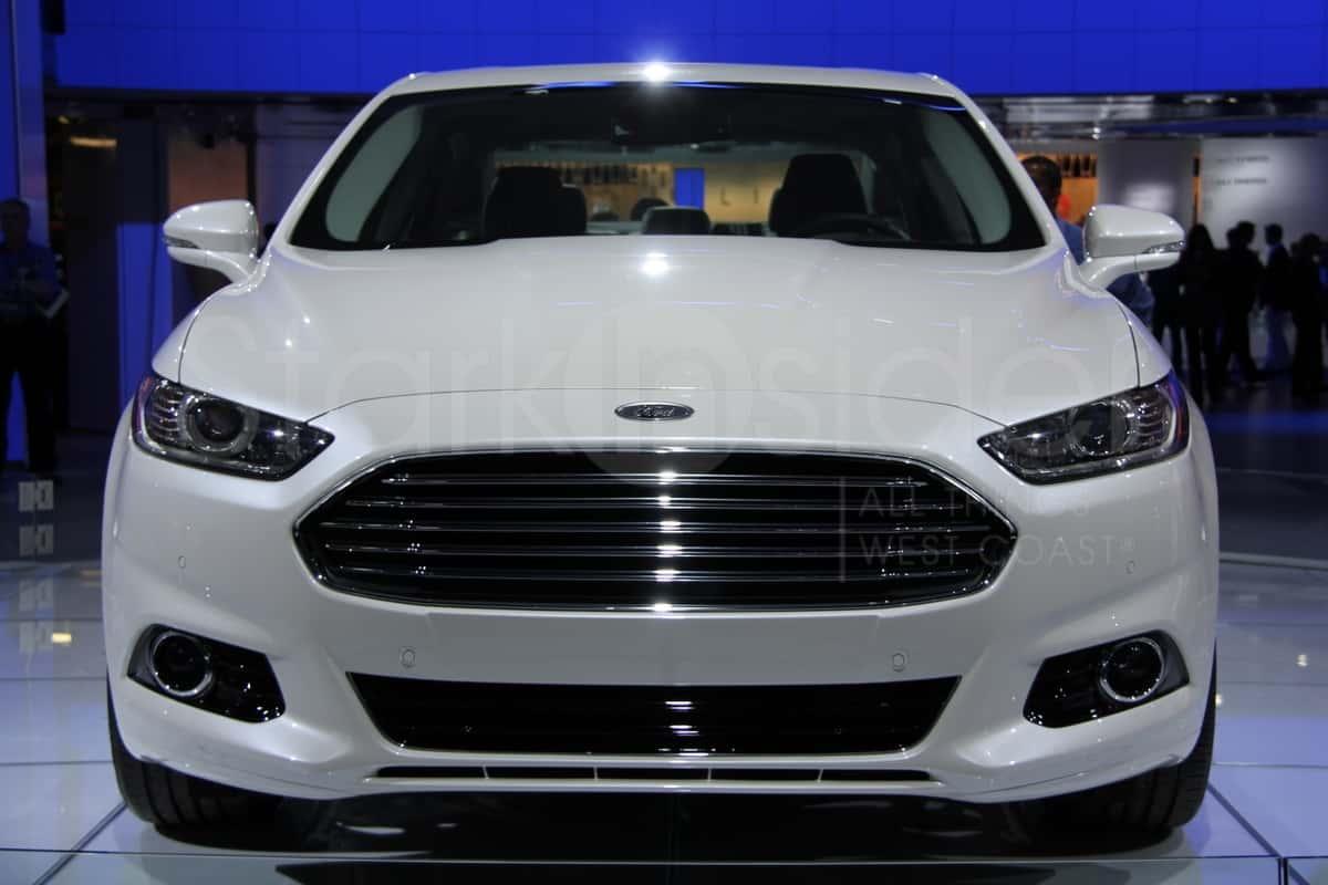 Detroit Auto Show 2013 Ford Fusion A Winner Photos Stark Insider