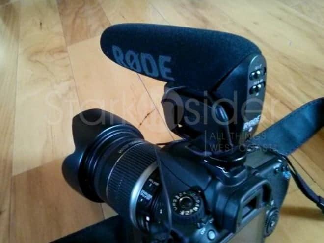 Rode Videomic Pro: Your DSLR's new best friend.