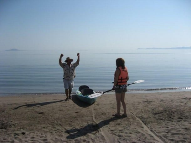 Sea of Cortez - Kayak Lessons - Loreto Bay