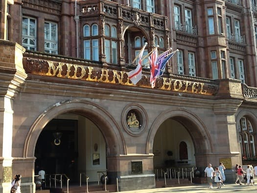 The grand old Midland Hotel