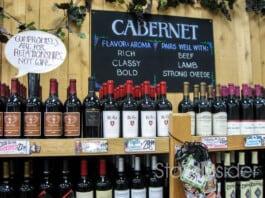 Trader Joe's Wine Wall