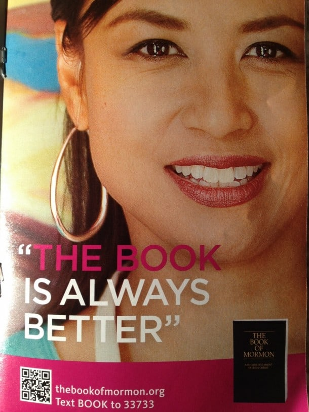 """The Book of Mormon, program """"The book is always better"""""""