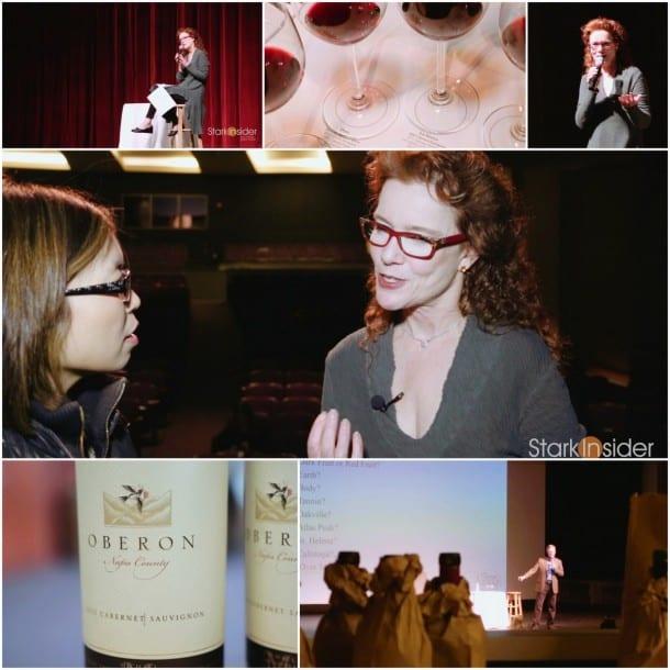 Karen MacNeil, Wine Bible author video interview in Napa Valley