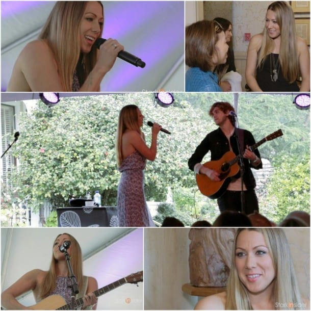 Colbie Caillat Interview and concert at Live in the Vineyard, Napa
