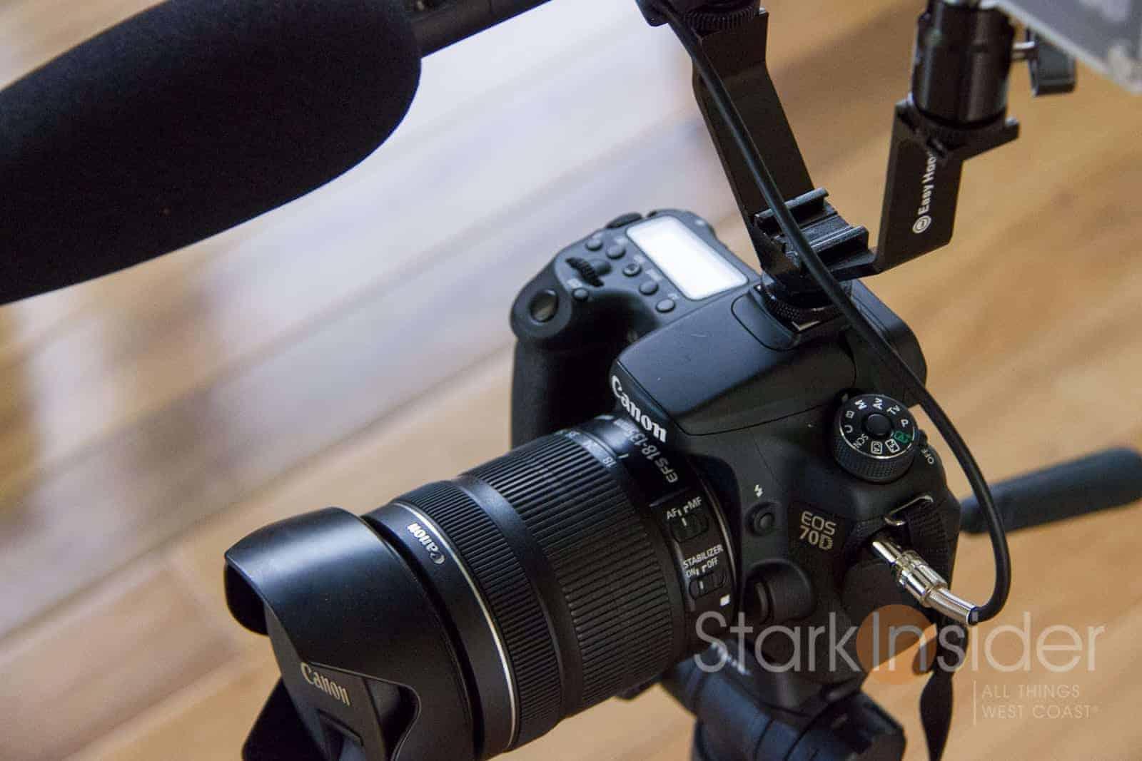 Beginner Filmmaker Starter Kit for Canon EOS DSLR 5D Mark II III 6D 7D 7D II 70D 60D T6s T6i T5i T4i T3i SL1