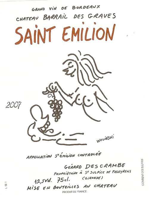 Charlie Hebdo Wine Label
