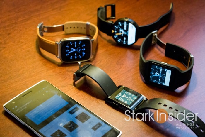 Android Wear and Pebble