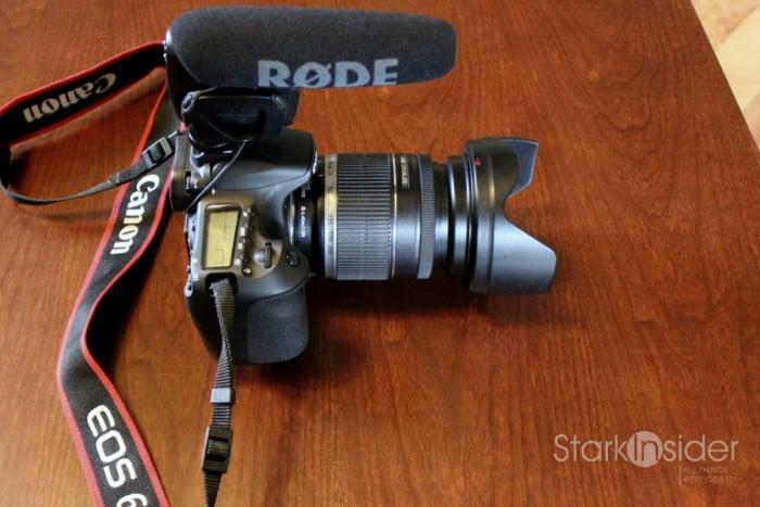 Rode Videomic Pro - Canon 60D