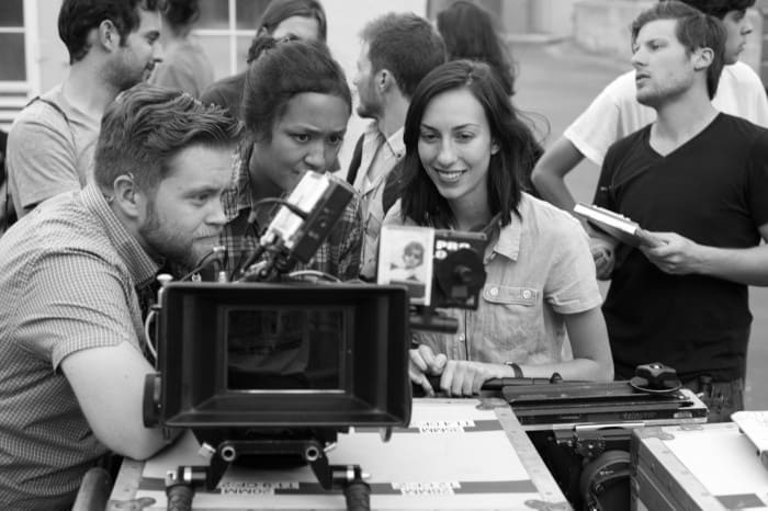 Gia Coppola - Palo Alto behind the scenes with RED camera