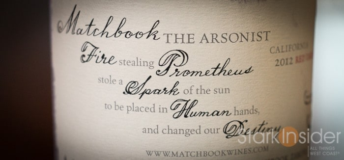 Matchbook Wine Review