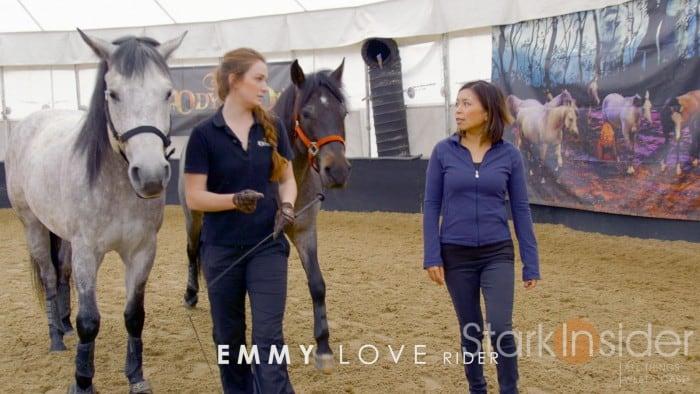Cavalia Odysseo - Horse Training Video