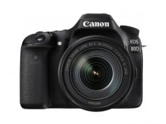 Canon 80D compared to 70D