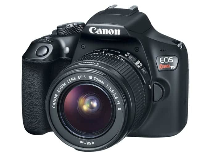 Canon ESO Rebel T6 specs, announcement vs 70D and 80D