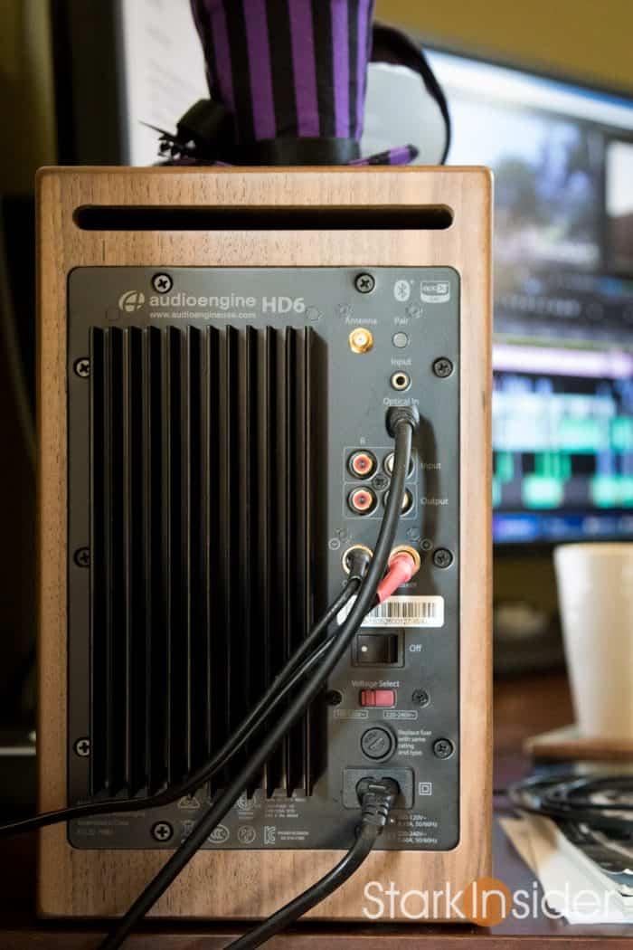 Audioengine HD6 Powered Speakers Walnut - review