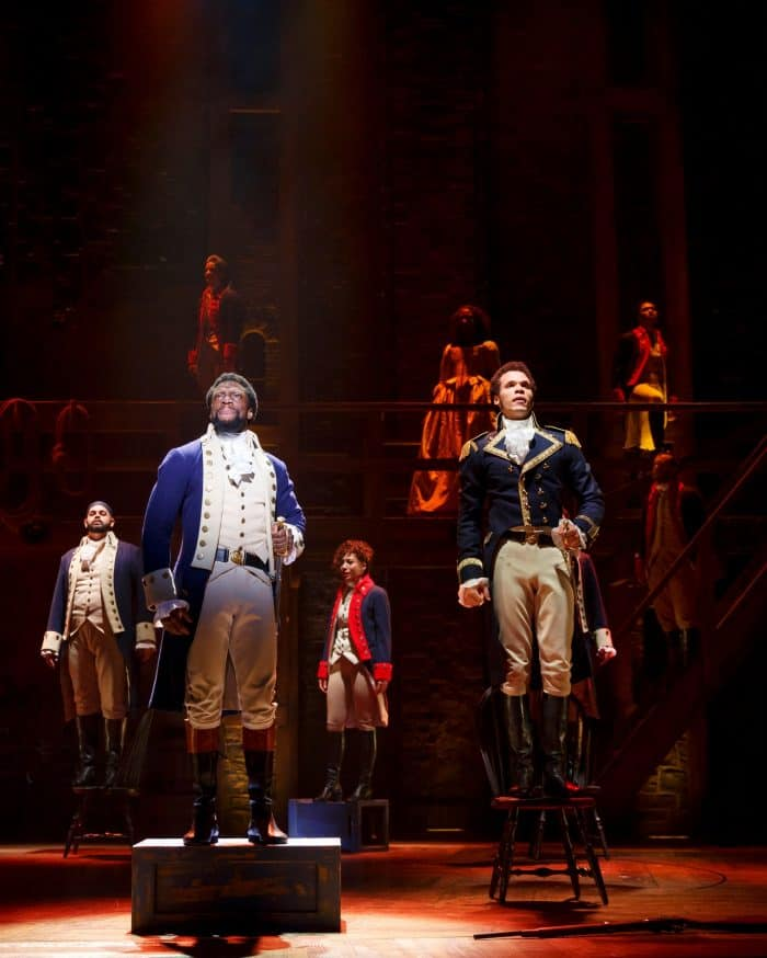 Hamilton Broadway Review - SHN Orpheum Theater, San Francisco