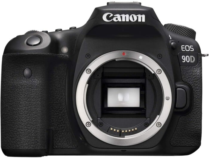 Canon DSLR Camera EOS 90D with Built-in Wi-Fi, Bluetooth, DIGIC 8 Image Processor, 4K Video, Dual Pixel CMOS AF, and 3.0 Inch Vari-Angle Touch LCD Screen