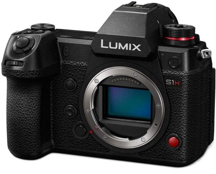 Panasonic Lumix S1H Digital Mirrorless Video Camera with 24.2 Full Frame Sensor