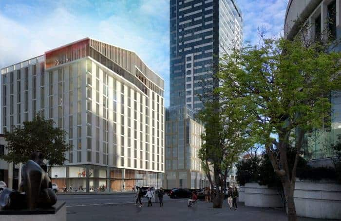 San Francisco Conservatory of Music - Bowes Center renderings