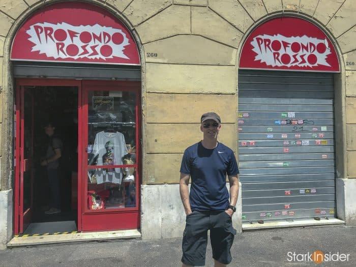 Profondo Rosso Store in Rome, Italy