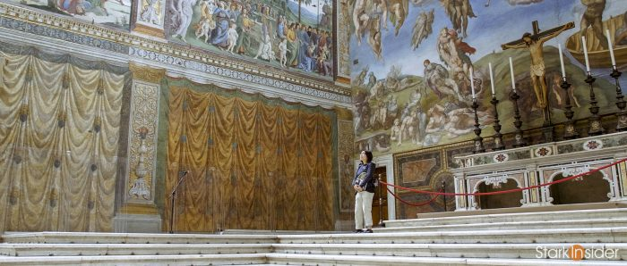 Waking Up the Vatican Review - Sistine Chapel tour guide