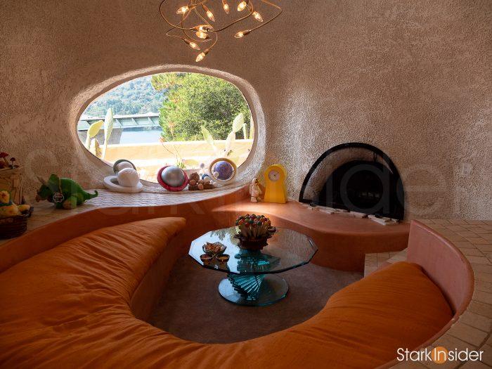 Flintstone House Interior: Conversation Room
