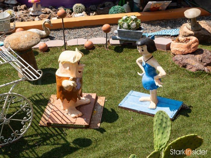 Flintstone House: Barney and Wilma Rubble