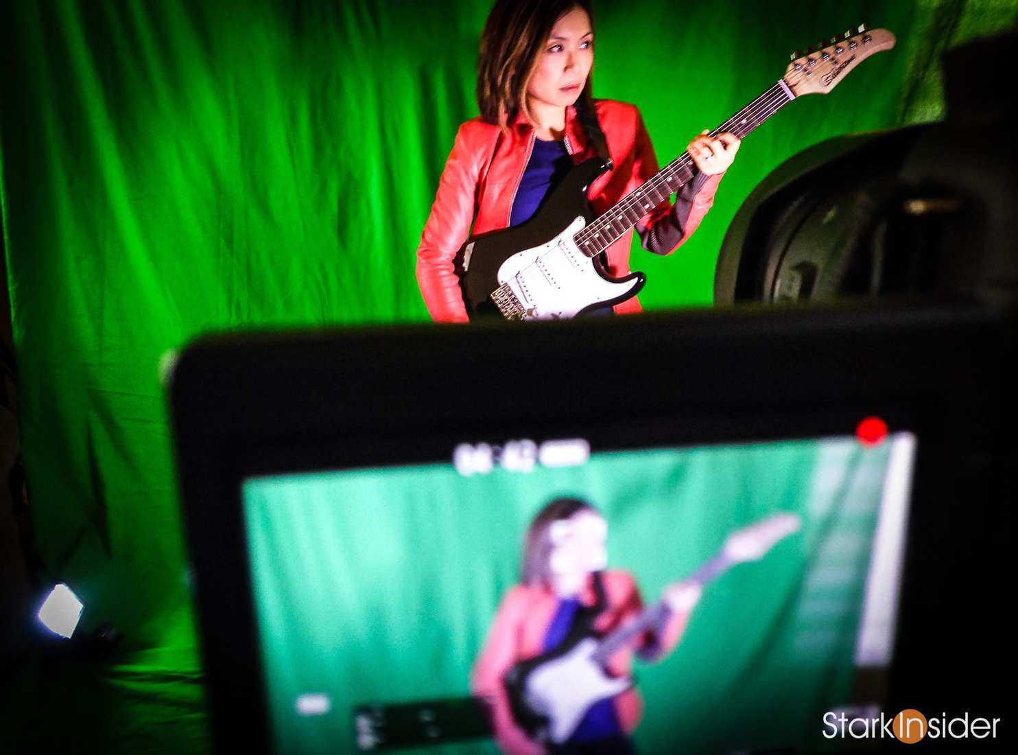 Loni Stark Green Screen for Stark Insider Video