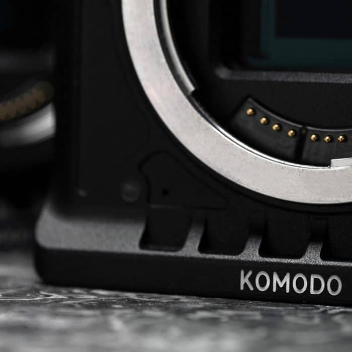RED Komodo 6K Cinema Camera with Canon RF lens mount