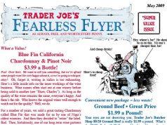 Trader Joe's response to panic buying during coronavirus COVID-19 - Fearless Flyer