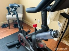 Peloton bike. Sweat storms are not optional.