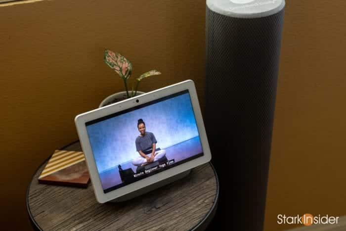 Peloton Top 10 Best Accessories: Google Nest Max smart display for streaming classes