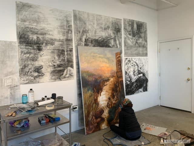 Loni Stark in Atelier Stark Studio