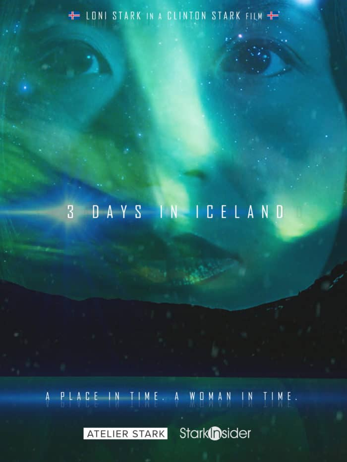 3 Days in Iceland - A short film by Clinton Stark - Starring Loni Stark