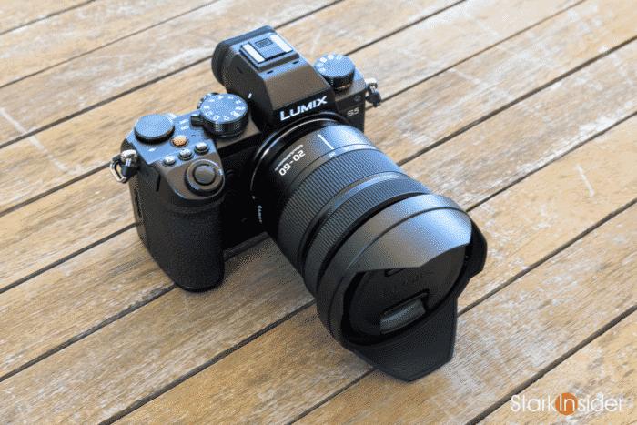 Panasonic S5 with 12-60mm kit lens
