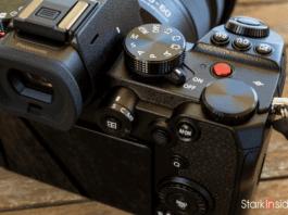 Panasonic S5 Mode Dial
