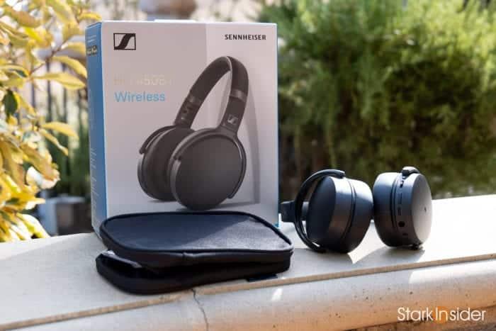 Sennheiser HD 450BT wireless noise cancelling headphones - Packaging