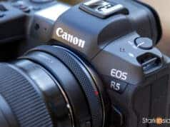 Canon EOS R5 - Front