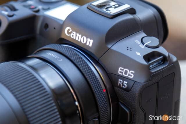 Canon EOS R5 - Front