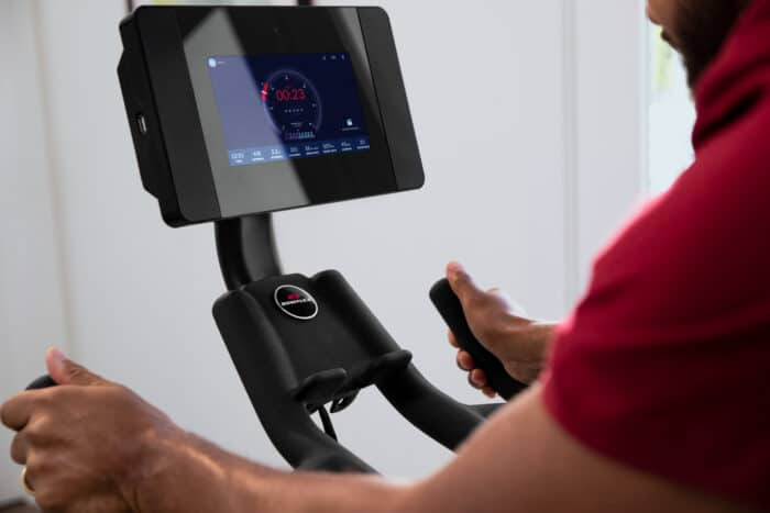 Bowflex C7 - integrated 7'' high-definition (HD) touch screen with access to the JRNY® digital fitness service.