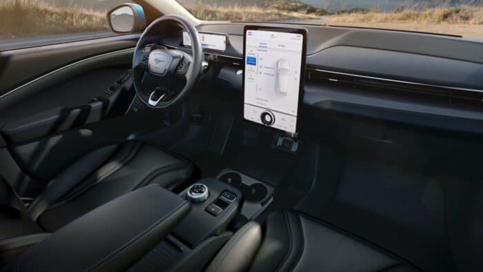 2021 Ford Mustang Mach-E - interior view