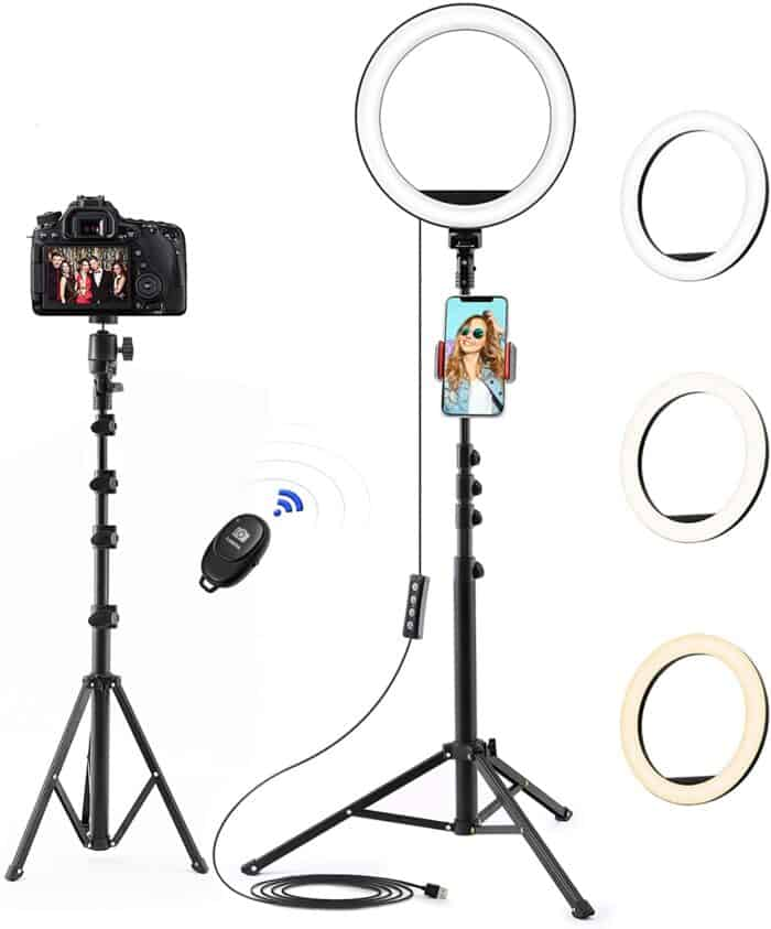 Ring Light - Tips for shooting corporate work videos from home