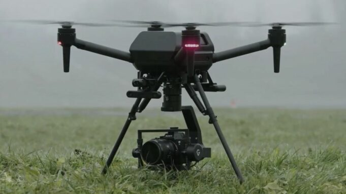 Sony Airpeal drone -a DJI rival for professional video and photo