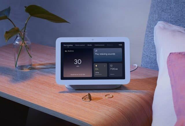 Google Nest Hub 2nd gen with sleep sensing